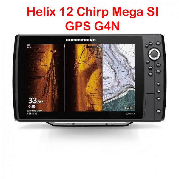 Helix 12 Chirp Mega SI+ GPS G4N Echolot