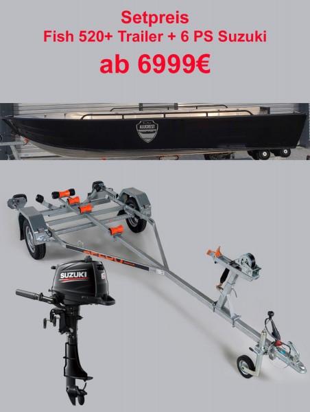 ALUCREST Fish 520  Set 6  PS Suzuki + Trail - Bild 1