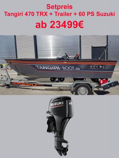 Tangiriboat Tangiri Strin + 60PS Suzuki - Bild 1