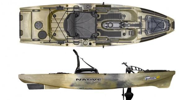 Native Watercraft Slayer Propel 10 Max Angelkajak Kajak - Bild 1