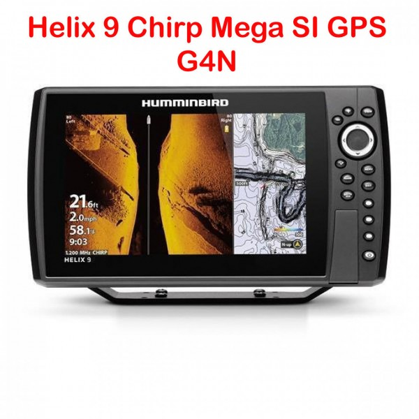 Humminbird Helix 9 Chirp Mega SI+ GPS G4N Echolot