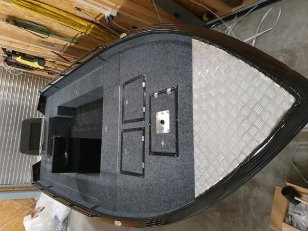 ALUCREST 520 Pro Fish Aluminium Boot Aluboot