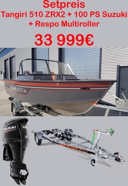 Tangiriboat 510 Tangiri Boot Set 100PS Suzuki - Bild 1