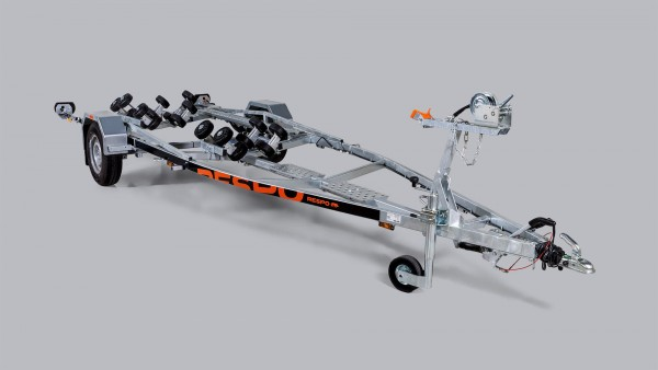 Respo 1350 kg Multiroller Trailer Boot - Bild 1