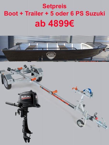 Fish 420  Set  6 PS Suzuki + Traier - Bild 1