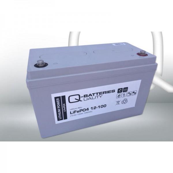 Q-Batteries Lifepo4 akku 12V 100AH