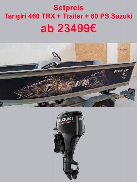 Tangiriboat Tangiri 460 + 60PS Suzuki + Trailer - Bild 1